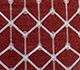 Jaipur Rugs - Flat Weave Wool and Viscose Red and Orange SDWV-179 Area Rug Closeupshot - RUG1099860