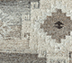 Jaipur Rugs - Flat Weave Wool and Viscose Ivory SDWV-19 Area Rug Closeupshot - RUG1100316