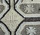 Jaipur Rugs - Flat Weave Wool and Viscose Ivory SDWV-26 Area Rug Closeupshot - RUG1099794