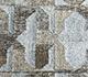 Jaipur Rugs - Flat Weave Wool and Viscose Beige and Brown SDWV-34 Area Rug Closeupshot - RUG1100330
