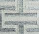 Jaipur Rugs - Flat Weave Wool and Viscose Ivory SDWV-37 Area Rug Closeupshot - RUG1099819