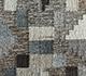 Jaipur Rugs - Flat Weave Wool and Viscose Beige and Brown SDWV-40 Area Rug Closeupshot - RUG1100264