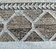 Jaipur Rugs - Flat Weaves Wool and Viscose Grey and Black SDWV-52 Area Rug Closeupshot - RUG1100351