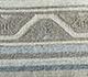 Jaipur Rugs - Flat Weave Wool and Viscose Beige and Brown SDWV-57 Area Rug Closeupshot - RUG1099804