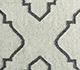 Jaipur Rugs - Flat Weave Wool and Viscose Ivory SDWV-62 Area Rug Closeupshot - RUG1100360