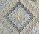 Jaipur Rugs - Flat Weave Wool and Viscose Beige and Brown SDWV-69 Area Rug Closeupshot - RUG1100365