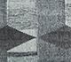 Jaipur Rugs - Flat Weave Wool and Viscose Blue SDWV-74 Area Rug Closeupshot - RUG1100371