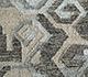 Jaipur Rugs - Flat Weave Wool and Viscose Grey and Black SDWV-77 Area Rug Closeupshot - RUG1100375