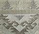 Jaipur Rugs - Flat Weave Wool and Viscose Gold SDWV-82 Area Rug Closeupshot - RUG1100378