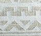 Jaipur Rugs - Flat Weave Wool and Viscose Ivory SDWV-83 Area Rug Closeupshot - RUG1100379