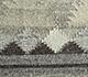 Jaipur Rugs - Flat Weave Wool and Viscose Beige and Brown SDWV-87 Area Rug Closeupshot - RUG1100382
