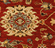 Jaipur Rugs - Hand Knotted Wool Red and Orange SPR-07 Area Rug Closeupshot - RUG1023512