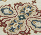 Jaipur Rugs - Hand Knotted Wool Ivory SPR-49 Area Rug Closeupshot - RUG1091250
