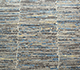Jaipur Rugs - Hand Knotted Wool and Bamboo Silk Grey and Black SRB-712 Area Rug Closeupshot - RUG1074100