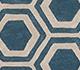 Jaipur Rugs - Hand Tufted Wool and Viscose Blue TAQ-378 Area Rug Closeupshot - RUG1060990