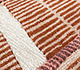 Jaipur Rugs - Hand Tufted Wool and Viscose Red and Orange TOP-111 Area Rug Closeupshot - RUG1093770