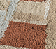 Jaipur Rugs - Hand Tufted Wool and Viscose Beige and Brown TRA-11042 Area Rug Closeupshot - RUG1102311