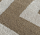 Jaipur Rugs - Hand Tufted Wool and Viscose Beige and Brown TRA-11059 Area Rug Closeupshot - RUG1102328
