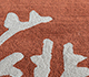 Jaipur Rugs - Hand Tufted Wool Red and Orange TRA-13061 Area Rug Closeupshot - RUG1104545