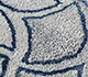 Jaipur Rugs - Hand Tufted Wool and Viscose Ivory TRA-13063 Area Rug Closeupshot - RUG1103537