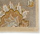 Jaipur Rugs - Hand Tufted Wool Beige and Brown TRC-626 Area Rug Closeupshot - RUG1025910