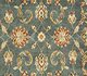 Jaipur Rugs - Hand Knotted Wool Green BT-107 Area Rug Closeupshot - RUG1062304