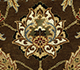 Jaipur Rugs - Hand Knotted Wool Beige and Brown JC-132 Area Rug Closeupshot - RUG1042970