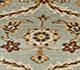 Jaipur Rugs - Hand Knotted Wool Blue BT-101 Area Rug Closeupshot - RUG1044790