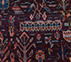 Jaipur Rugs - Hand Knotted Wool and Bamboo Silk Pink and Purple LES-319 Area Rug Closeupshot - RUG1086010