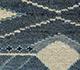 Jaipur Rugs - Hand Knotted Wool & Bamboo Silk Blue LES-355 Area Rug Closeupshot - RUG1088224