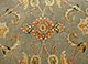 Jaipur Rugs - Hand Knotted Wool and Silk Green QNQ-44 Area Rug Closeupshot - RUG1058870