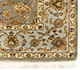 Jaipur Rugs - Hand Knotted Wool and Silk Green QNQ-44 Area Rug Cornershot - RUG1017942