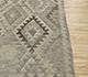 Jaipur Rugs - Flat Weave Wool Beige and Brown AFDW-107 Area Rug Cornershot - RUG1090873