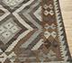 Jaipur Rugs - Flat Weave Wool Beige and Brown AFDW-11 Area Rug Cornershot - RUG1091028