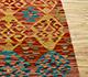 Jaipur Rugs - Flat Weave Wool Red and Orange AFDW-116 Area Rug Cornershot - RUG1091007