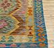 Jaipur Rugs - Flat Weave Wool Gold AFDW-135 Area Rug Cornershot - RUG1090912