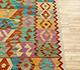 Jaipur Rugs - Flat Weave Wool Multi AFDW-227 Area Rug Cornershot - RUG1090924