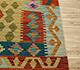Jaipur Rugs - Flat Weaves Wool Gold AFDW-23 Area Rug Cornershot - RUG1090883