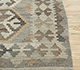 Jaipur Rugs - Flat Weave Wool Beige and Brown AFDW-243 Area Rug Cornershot - RUG1090931