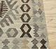 Jaipur Rugs - Flat Weave Wool Beige and Brown AFDW-244 Area Rug Cornershot - RUG1090932
