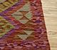 Jaipur Rugs - Flat Weave Wool Red and Orange AFDW-59 Area Rug Cornershot - RUG1090983
