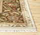 Jaipur Rugs - Hand Knotted Silk Ivory ASL-08 Area Rug Cornershot - RUG1023494