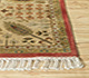Jaipur Rugs - Hand Knotted Silk Beige and Brown ASL-09 Area Rug Cornershot - RUG1025700