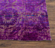 Jaipur Rugs - Hand Knotted Wool and Silk Pink and Purple CX-2414 Area Rug Cornershot - RUG1069093