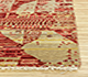 Jaipur Rugs - Hand Knotted Wool and Bamboo Silk Gold CX-2818 Area Rug Cornershot - RUG1084325