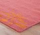 Jaipur Rugs - Flat Weave Wool Pink and Purple DW-108 Area Rug Cornershot - RUG1038712
