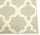Jaipur Rugs - Flat Weave Wool Grey and Black DW-138 Area Rug Cornershot - RUG1041741