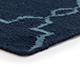 Jaipur Rugs - Flat Weave Wool Blue DW-162 Area Rug Cornershot - RUG1060324