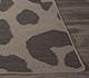 Jaipur Rugs - Flat Weave Wool Grey and Black DW-303 Area Rug Cornershot - RUG1056905