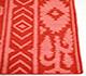 Jaipur Rugs - Flat Weaves Wool Red and Orange DW-51 Area Rug Cornershot - RUG1033147